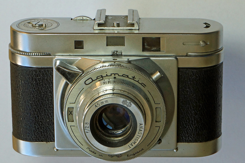 Agimatic rangefinder camera