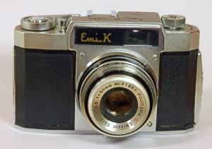 Vintage Emi-K camera