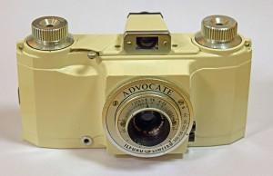 Vintage Ilford cameras - Ilford Advocate