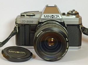 Vintage Minoltas cameras - Minolta X300