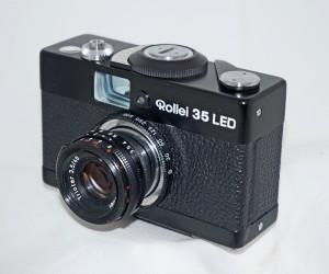 Vintage Rollei cameras - Rollie 35 led
