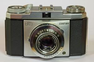 Vintage Zeiss Ikon cameras - Contina