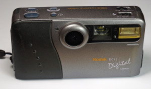 Vintage and early digital cameras - Kodak DC25 Digital Camera