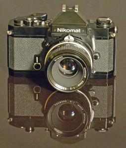 Vintage Nikon cameras - Nikkormat / Nikormat FT2