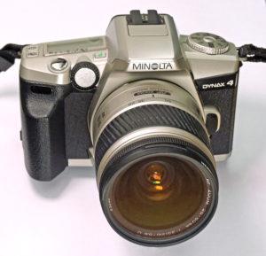 Vintage Minolta cameras - Minolta Dynax 4
