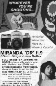Miranda Advert
