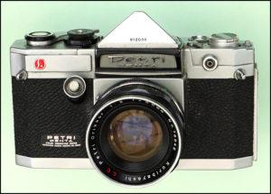 Vintage Petri Penta Camera
