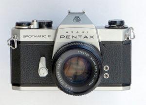 Pentax Spotmatic F Camera